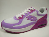 女性若い様式の通気性の網の体操靴