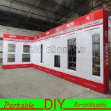 Будочка выставки индикации Versatile&Portable высокого качества многоразовая алюминиевая