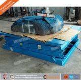 静止したのための単段のはさみ上昇は上昇または油圧ジャック上昇トラックを切る