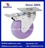 ねじが付いている産業紫色カラー足車