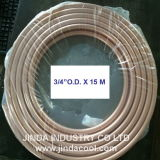 """3/4の"""" O.D. ASTM B280の柔らかい気性のパンケーキコイルの銅のコイル"""
