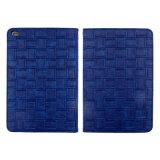 Grosse Zellen-Webart-Muster-Leder-Kästen für iPad/iPad Mini