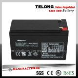 batteria al piombo di illuminazione di soccorso 12V7ah con il certificato dell'UL di RoHS del Ce