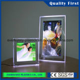 China de fábrica transparente Color Claro echó la hoja de acrílico plástico plexiglás