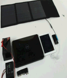 cargador solar 25W-30W con el panel solar 3-6PCS para el teléfono móvil