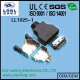 schakelaar van de Contactdoos van Pulg van de Kabel SCSI van 3m de Mannelijke