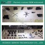 Pezzi meccanici personalizzati della gomma di silicone dell'OEM