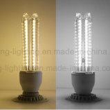 Mais-Licht-3u SMD 2835 LED Deckel-Mais-Birne des LED-E27 LED Birnen-der Lampen-9W Aluminum+Glass