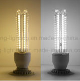 LED E27 LED 옥수수 빛 3u SMD 2835 LED 전구 램프 9W Aluminum+Glass 덮개 옥수수 전구
