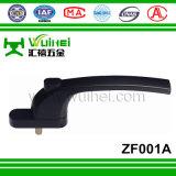 Tutta la maniglia dell'asta cilindrica del quadrato dello zinco per la finestra e portello con ISO9001 (ZF001A)