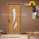 形成されたドア、屋内の、内部のガラスドア、MDFのドア