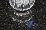 Подгонянный камень Polished черной галактики вымощая