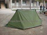 عسكريّة خارجيّة يخيّم خيمة صامد للمطر