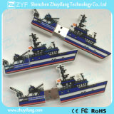 Douane Ship Design USB Flash Drive met Logo (ZYF5039)