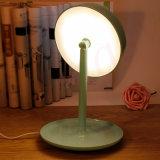 2016 neu kommen 3 in 1 Entwurfs-LED beleuchtetem Eitelkeits-Verfassungs-Spiegel mit Tisch-Lampe an