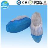 처분할 수 있는 부직포 PP+CPE 단화 덮개, 미끄럼 방지 단화 덮개