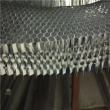 No expandido de aluminio Hoenycomb Core rebanada cortó en Tamaño Honeycomb Cores