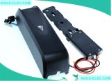 48V 11.6ah Lithium-unten Gefäß-elektrische Fahrrad-Batterie mit Aufladeeinheit