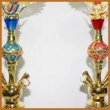 Glasfertigkeit-Wasser-Rohr-Diamant-Dekoration Shisha Flaschen-Huka