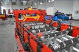 Nach Maß Farben-Stahldach-Blatt-Rolle, die Maschine bildet