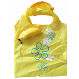 Kundenspezifischer Firmenzeichen-Entwurfs-Beutel-faltender Rucksack-Nylonbeutel für Arbeitsweg