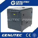Stille Diesel 6.0kVA Generator in drie stadia voor het Gebruik van het Huis