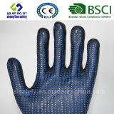Handschoen van het Werk van de Veiligheid van de besnoeiing de Bestand met Met een laag bedekt Nitril
