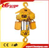 Geschwindigkeits-Laufkatze-Typ elektrische Kettenhebevorrichtung der Kettenhebevorrichtung-1.5ton einzelner