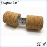 Vara da memória Flash do projeto da cortiça do vinho (XH-USB-035)