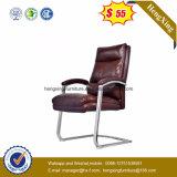 Cadeira de Vistor do metal do cromo do aço inoxidável (HX-6C133)