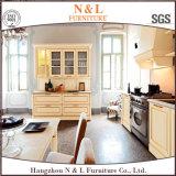 Gabinete de cozinha de madeira da mobília antiga do estilo do forro com Blum Handware
