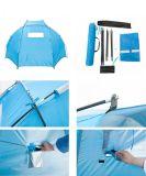 """Riparo portatile esterno di Sun della tenda della cabina della spiaggia di Easyup (parasole, azzurro, 94.5 """" L X 47.2 """" W X 55 """" H)"""