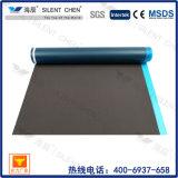 Revestimiento impermeable de espuma EVA negro con película para pisos de madera
