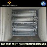 Apoyo ajustable de vaivén del acero de la altura del andamio de la construcción