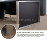 Escritorio de oficina moderno del PVC del nuevo cuero de madera (AT032A)