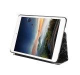 El OEM marca en la tableta la caja de cuero de PC/E-book para el iPad y enciende