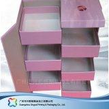 Коробка ящика упаковки подарка/косметики/ювелирных изделий индикации твердая упаковывая (xc-hbc-005)