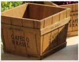 Caja / caja de madera de madera con precio de fábrica para la promoción