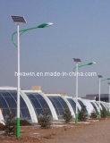 90W 10m LED 태양 옥외 가로등