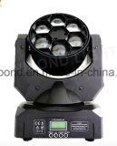 Occhio capo mobile variopinto dell'ape dell'indicatore luminoso del fascio di 6PCS*10W LED per l'indicatore luminoso del partito
