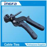 Rostfreie Gleichheit befestigt Zange für Kabelbinder-Stärke bis zu 0.3mm