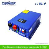 заряжатель инвертора волны синуса нового гибридного солнечного инвертора 1-12kw чисто