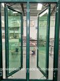 Ventana de aluminio del marco de la rotura termal de la alta calidad de Foshan con la pantalla de la mosca