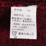 Gn1534 Camisola de malha de malha de iã e lã misturada