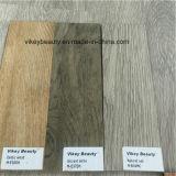 Rétro en bois imperméabilisent la feuille de plancher de vinyle d'usure