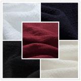 Tela de linho tecida do olhar de rayon de nylon de matéria têxtil para a camisa