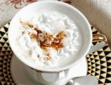 No desnatadora de la lechería para el té del café y de la leche