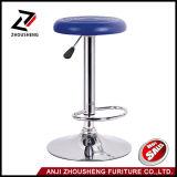 PUの革円形のシートのシンプルな設計のBarstoolsのバースツールの椅子の円形のシートのパブの椅子
