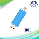 2 в 1 цветастом приводе вспышки OTG USB2.0 для франтовского телефона
