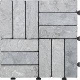 Pavimento unito di pietra delle mattonelle DIY del materiale da costruzione per il giardino ed esterno naturali